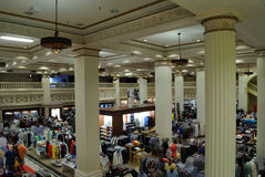 Wanamaker Department Store. The landmark Wanamaker Department Store, now a Macy's was the first department store of its kind in Philadelphia Pennsylvania Stock Photo