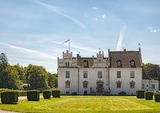 Wanas-Schloss in Skane Stockbilder