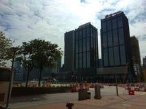 Wanchai Hong Kong Royaltyfri Fotografi