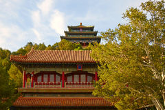 Wanchun pavilion , Beijing Royalty Free Stock Photo