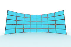 Wandüberwachungsgerät Stockfoto