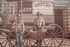Wand Art Belgrave Victoria Lizenzfreies Stockbild