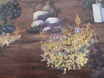 Wand Art Thailand Culture Stockfotos