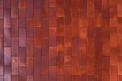 Wand-Beschaffenheits-Hintergrundmaterial des roten Backsteins des IndustrieHochbaus Lizenzfreie Stockbilder