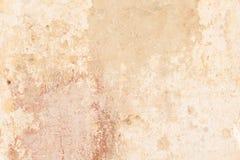Wand-Beschaffenheitshintergrund des Schmutzes Beige gemalter Lizenzfreie Stockbilder