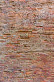 Wand-Beschaffenheitsschmutzhintergrund des roten Backsteins, backgro Wand des roten Backsteins Lizenzfreie Stockfotografie