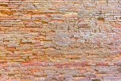 Wand-Beschaffenheitsschmutzhintergrund des roten Backsteins, backgro Wand des roten Backsteins Stockbilder
