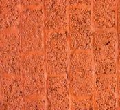 Wand blockiert Orange Lizenzfreies Stockbild
