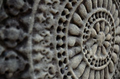 Wand Carvings ANG-Kor Wat Lizenzfreie Stockfotografie