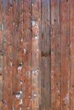 Wand der alten Bretter Stockbild