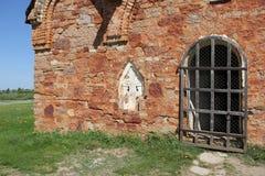 Wand der alten Kirche Lizenzfreies Stockfoto
