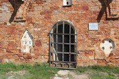 Wand der alten Kirche Lizenzfreie Stockfotos