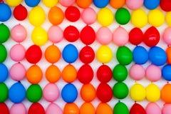 Wand der Ballone Lizenzfreies Stockfoto