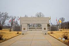 Wand der Ehre Bella Vista, Arkansas lizenzfreie stockfotos