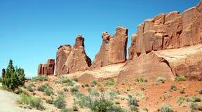Wand der Felsen Lizenzfreie Stockfotografie