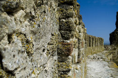 Wand der Festung Stockfotografie