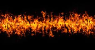 Wand der Flammen Stockbilder