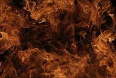 Wand der Flammen Stockfotos