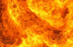 Wand der Flammen Stockfotografie