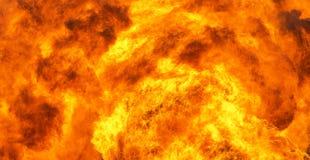 Wand der Flammen Lizenzfreies Stockbild