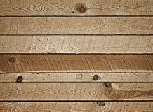 Wand der hölzernen Planken Lizenzfreie Stockbilder