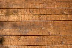 Wand der hölzernen Vorstände Stockbilder