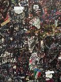 Wand der Liebe in Verona Italy Stockbild