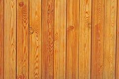 Wand der Planken mit Knotenhintergrund Stockfotografie