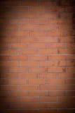 Wand der roten Ziegelsteine Stockfotos