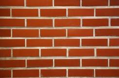Wand der roter Backsteine Lizenzfreies Stockfoto