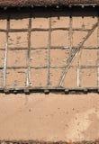 Wand der rustikalen Scheune Stockbild