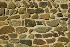 Wand der Steine Lizenzfreie Stockbilder