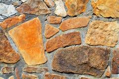 Wand der Steine Stockfotografie