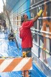 Wand der Straßen-Art Stockfotos