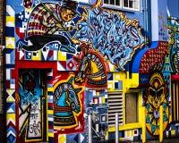 Wand der Straßen-Art Stockfotografie