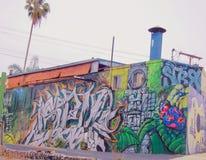 Wand der Stra?en-Art stockfoto