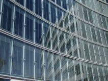 Wand des Glases Stockbild