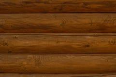 Wand des hölzernen lackierten horizontalen Bretthintergrundes lizenzfreies stockbild