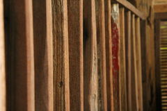 Wand des Holzes Lizenzfreie Stockfotografie