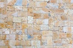 Wand des natürlichen Steins Stockfotografie