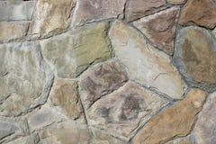 Wand des natürlichen Steins Stockfotos