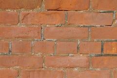 Wand des roten Backsteins Stockfotos