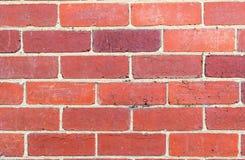 Wand des roten Backsteins 2 Stockfotografie