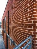 Wand des roten Backsteins Lizenzfreies Stockbild