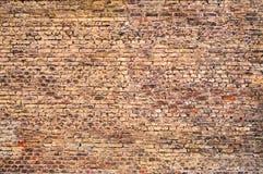 Wand des roten Backsteins Stockfotografie