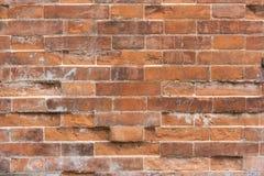 Wand des roten Backsteins Stockfoto