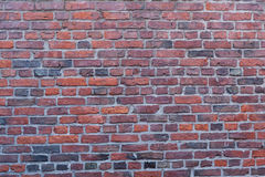 Wand des roten Backsteins in Boston, Massachusetts - USA Lizenzfreie Stockbilder