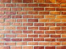Wand des roten Backsteins für Beschaffenheit und Hintergrund Stockfotos