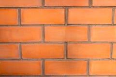 Wand des roten Backsteins Hintergrund des roten Backsteins Lizenzfreie Stockbilder