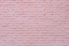 Wand des roten Backsteins Hintergrund lizenzfreies stockfoto